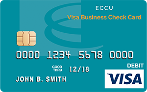 Visa business check card