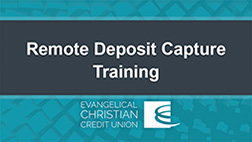 Remote Deposit Capture Training Video