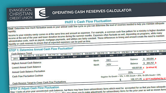 Cash Reserves: An Online Calculator for Good Stewardship