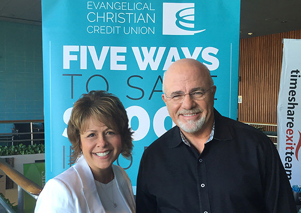 Linda and Dave Ramsey