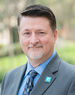 Chuck Kelly, new senior vice president and chief technology and operations officer at ECCU